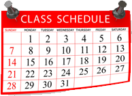 Midwest Fit Club class schedule