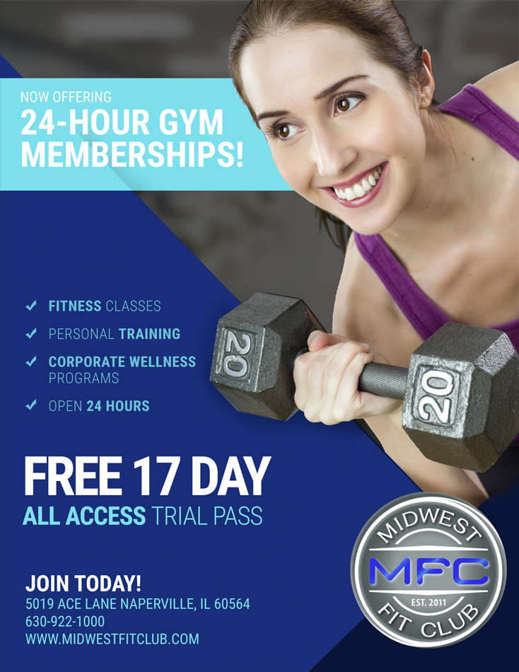 Naperville Fitness Center Midwest Fit Club